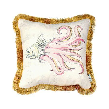 GuanAnAn London - The Fish Cushion Pearl He Luo