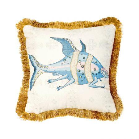 GuanAnAn London - The Fish Cushion Pearl Ran Yi