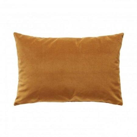 Hübsch sofapude velour Okker