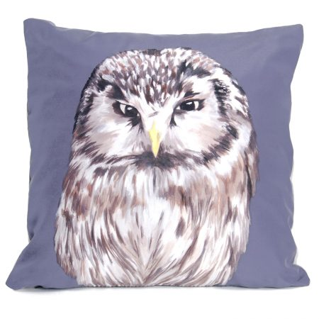 Katie & the Wolf - Owl Cushion