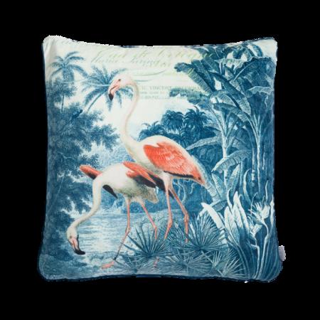 Pudebetræk Flamingo 60x60 cm