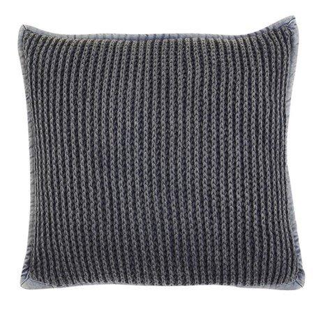 Pure knitted Pudebetræk 45x45 - Grå