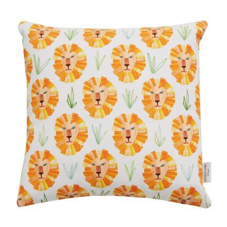Rosa & Clara Designs - Lions Mini Cushion