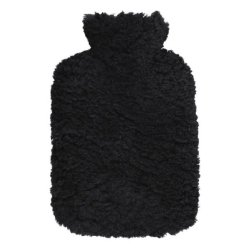 Varmedunk - sort fåreskind