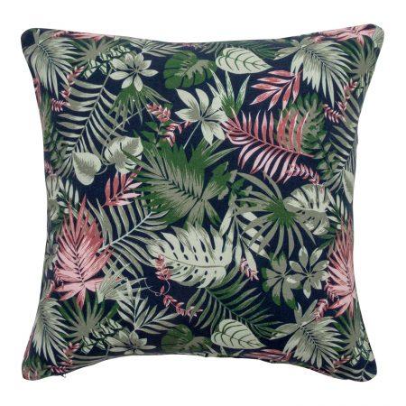 Wallace Cotton - Rainforest Square Cushion